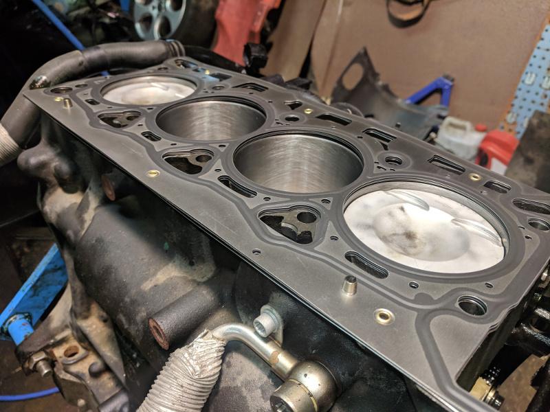 tsi 2.0 motorrenovering med nya kolvringar